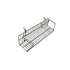 2 Ft Slatwall/ Gridwall/ Pegboard Wire Video Shelf ( 10 PER BOX)