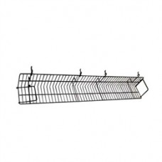 4 Ft Slatwall/ Gridwall/ Pegboard Wire Video Shelf (10 PER BOX)