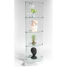 4- Level Glass Display Tower