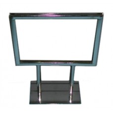 "Chrome Card Holder 5-1/2"" X 7"""