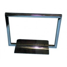 "Chrome Card Holder 7"" X 11"""