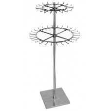 Double Revolving Belt Stands Or Tie Rack Display