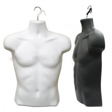 Male Half Body Hanging Mannequin