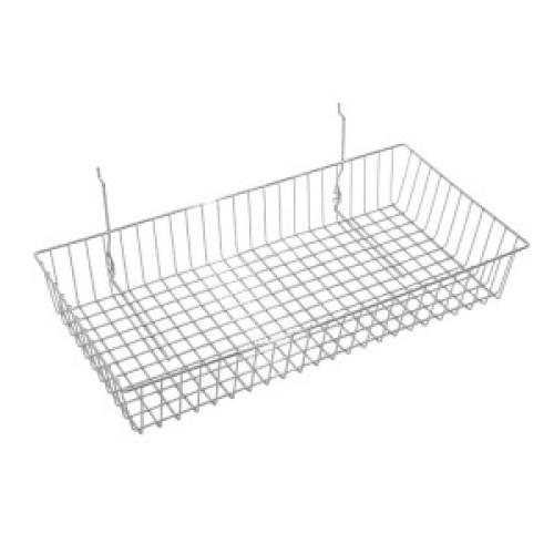 slatwall metal basket