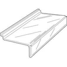 Plexy-glass shelf